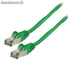 Cable de red FTP CAT 6 de 15.00m verde Valueline