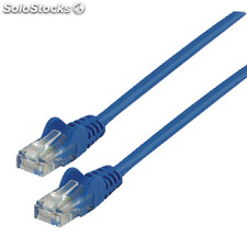 Cable De Red Utp Cat 5e De 3.00m Azul