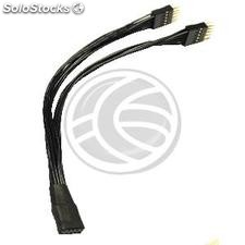 Cable duplicador USB de placa madre 10-pin USB AC97 HD-Audio (UB26)
