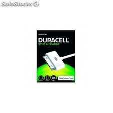Cable duracell usb - apple 30 pin - carga /datos i