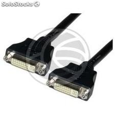 Cable dvi-i female to dvi-i female 10 m (DV05)