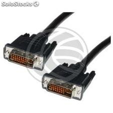 Cable dvi-i Male to dvi-i male 10 m (DV15)