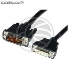Cable dvi-i Male to dvi-i socket 7 m (DV24)