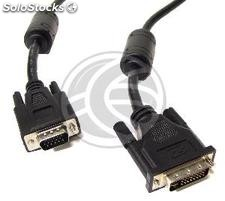Cable dvi-i vga male to male 3 m (DV55-0002)