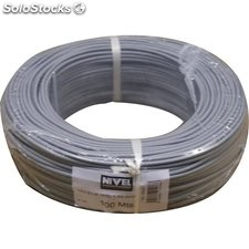 Cable Elec 1,5Mm Hilo Flexible Nivel Cobre Gr Libre Halogeno
