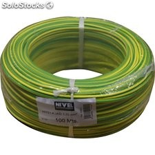 Cable Elec 2,5Mm Hilo Flexible Nivel Cobre Am/Ve Libre Halog