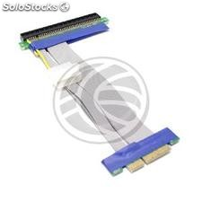 Cable extension 19cm 4X 16X PCIe riser card powered (CX72)
