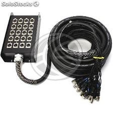 Cable extension box 20 channel DMX512 dmx XLR3 50m (XR34)