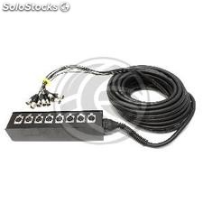 Cable extension box 8 channel DMX512 dmx XLR3 40m (XR03)
