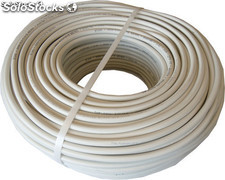 Cable H05VV-F Manguera 2x1,5mm 50m (Blanco)