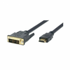 Cable hdmi 19macho-dvi 18+1macho tipo a para conectar pc a tv hdmi 3