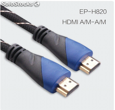 Cable HDMI 3D TV soporte 4k 1080p Ethernet ideal para cine en casa HDTV PS3