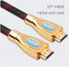 Cable HDMI Full HD 1080P apoya Ethernet 3D y retorno de audio cable.