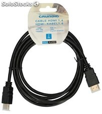 Cable hdmi grundig 1.4 2 mtr