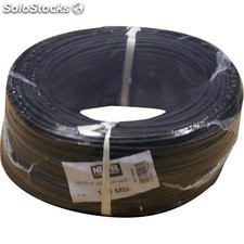 Cable Hilo Flexible H07Z1-K Libre Halogeno 2,50 Negro 100Mt