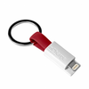 Cable llavero incharge incha-light-red - lightning - para carga y