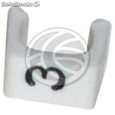 Cable Markers (3) 100uds (4.2mm) (CN43)