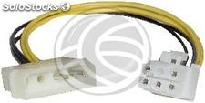 Cable molex 4Pin-m to pci-express 6Pin-h (Mini-Fit 4.20Pitch) (VP12)