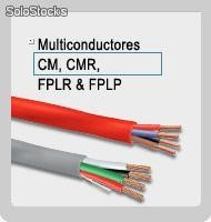 Cable Multiconductores CM, CMR, FPLR & FPLP