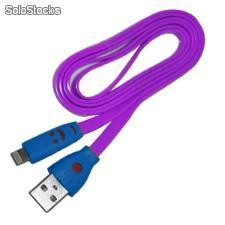 Cable multifuncional usb-lightning para iphone 5 - MC-USBL8PU