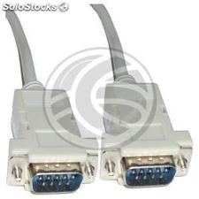 Cable Null-Modem Series 15m (DB9-m/m) (NM25)