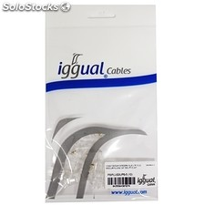 Cable pc iggual Conector RJ45 categoria 6 utp 10 Und.