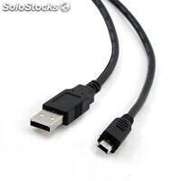 Cable pc iggual usb 2.0 a-miniB 5p. 1.8 metros