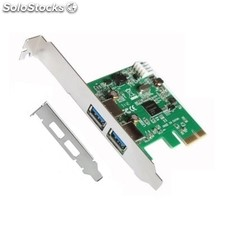 Cable pc l-link Tarjeta Pci Express usb 3.0 + Adaptador lp