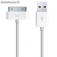 Cable PC L-LINK usb para Ipad/Iphone 1,8 metros