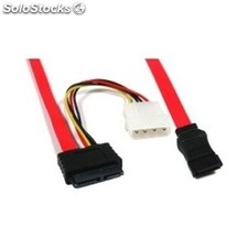 Cable pc nanocable slimline sata datos+alimentacion