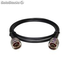 Cable Pigtail Coaxial LMR240 Conector N Macho (1m)