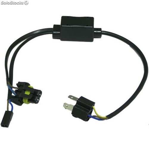 Cable plug and play h4 xenon 12-24v