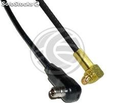Cable rg-174RF 20cm (ms-151-c-lp-Macho/mmcx-Hembra) (WG97)