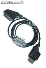 cable rgb scart+ av x-box 360 PEC03-800
