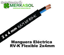 Cable rv-k 2x4mm Negro