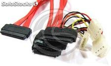Cable SAS 32p to 4 x sata 7p +15 p (sff-8484 to 4xSATA-7 +15 pin) 1.0 (AS08)