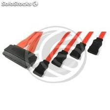 Cable SAS 32p to 7p 4xSATA2 (sff-8484 to 4x7pin-h) 1.0m (AS04)