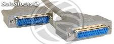 Cable Serial/Parallel 1.8m (DB25-m/h) (CP12)