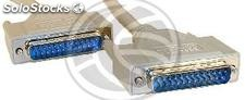Cable Serial/Parallel 1.8m (DB25-m/m) (CP11)
