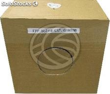 Cable Spool 24AWG Exterior Rigid Cat.6 stp 305m (LM92)