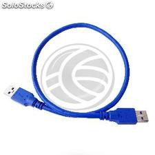 Cable SuperSpeed usb 3.0 am a am 5V 50cm (UT31-0002)
