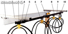 Cable trolley flatcable