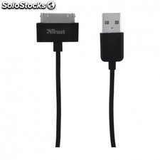 Cable trust 30 pines - 1 metro - para iphone / ipad / ipod - certificado por