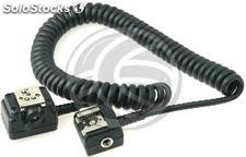 Cable TTL extensor para speed light flash para Nikon 10m (EY27)