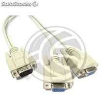 Cable type and passive replicator 1 VGA to 2 VGA 3m (VS94)
