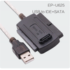 Cable USB 2.0 a IDE+SATA Cable de disco duro cable datos usb