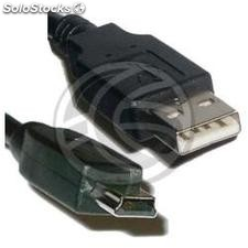 Cable usb 2.0 am a MiniUSB5pin-m tipo b de 1.8m (CU23)