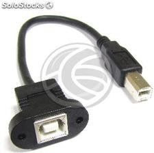 Cable usb 2.0 (bm/bh) 0.2m (US01)