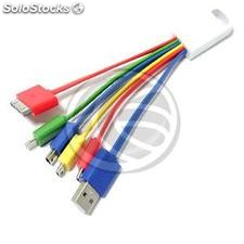 Cable usb 5-pin 30-1 Charger Micro usb Micro usb mini usb lightning (AA81-0002)