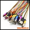 Cable USB 8 Pines 2 en 1 datos de Carga Cable USB para iPhone 5 5c 6 6s - Foto 3